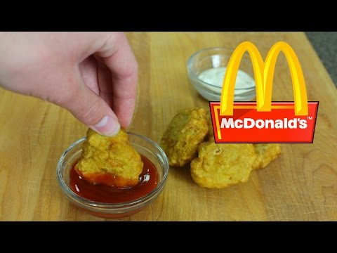 How to Make McDonald's Chicken McNuggets At Home!