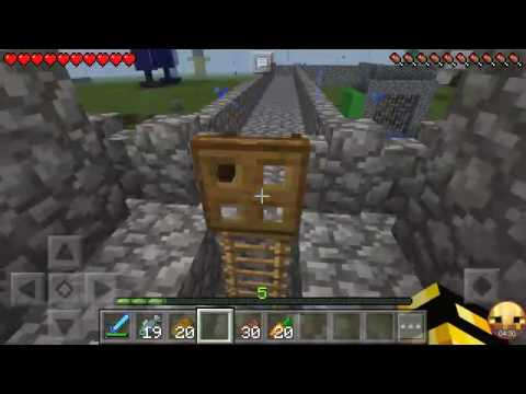 Minecraft Pocket Edition story: I killed King Ocelot
