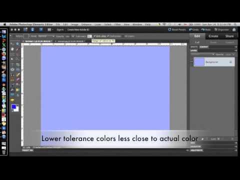 Photoshop Elements- Paint Bucket Tutorial