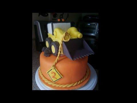 Tractor cake 🚜 pastel de tractor 🎂