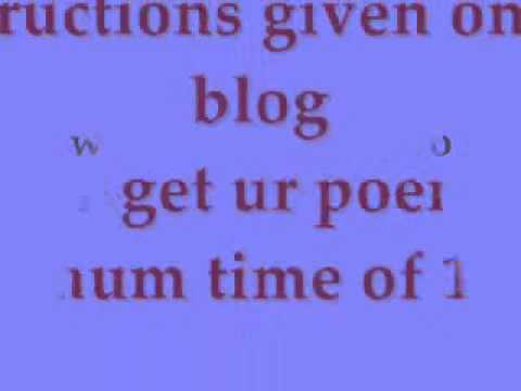 How to get free poems.wmv