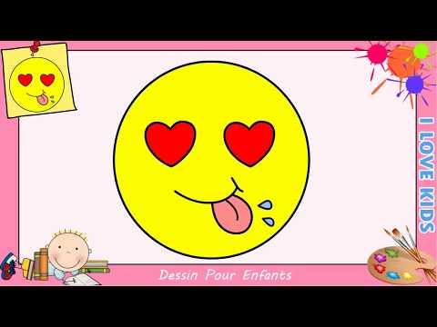 Comment Dessiner Un Emoji Kawaii Facile Pour Enfants
