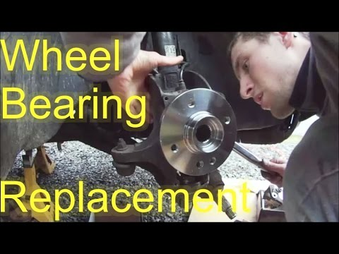 How to Replace MINI Cooper Wheel Bearing - Hub Bearing