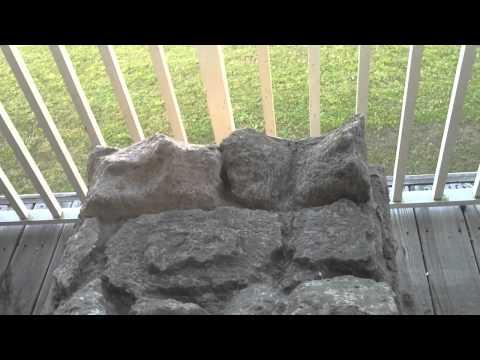 D.I.Y. 3D Rock Wall Aquarium Background Part 2