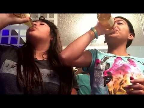 Sparkling apple juice challenge