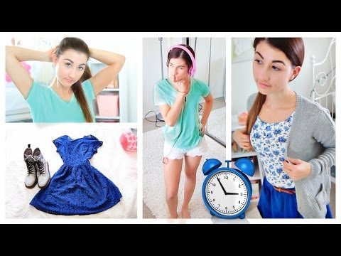 Morning Routine for Running Late! Life hacks & Tips