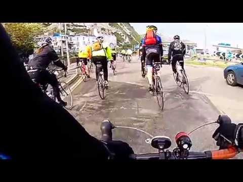 London to Paris Ride - April '14. Dover Ferry port.