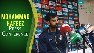 PSL 2017 Play-off 1: Mohammad Hafeez Press Conference