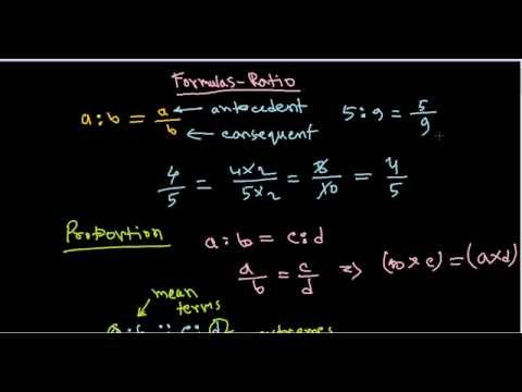 Numerical apptitude and reasoning tutorials - ratio and proportions formula and tricks