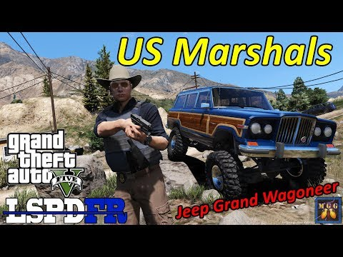 US Marshals Patrol in a Jeep Grand Wagoneer | GTA 5 LSPDFR Episode 307