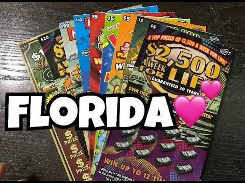 Part 1 | $100 Florida Lottery Scratch Off Tickets
