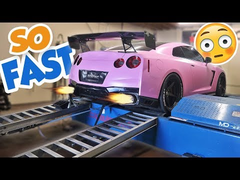 FASTEST PINK GTR IN THE WORLD! (1000HP+)