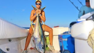 Best Offshore Fishing for Yellowfin Tuna in Louisiana Video