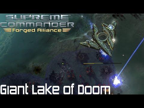 Supreme Commander FAF - Giant Lake of Doom
