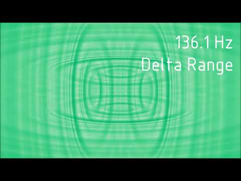 Pure 136.1 Hz Delta Range Binaural Beats [30 min]