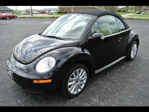 2008 Volkswagen Beetle SE Start Up and Overview