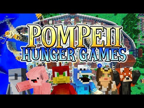 THE RETURN OF HUNGER GAMES : Pompeii - Minecraft xbox