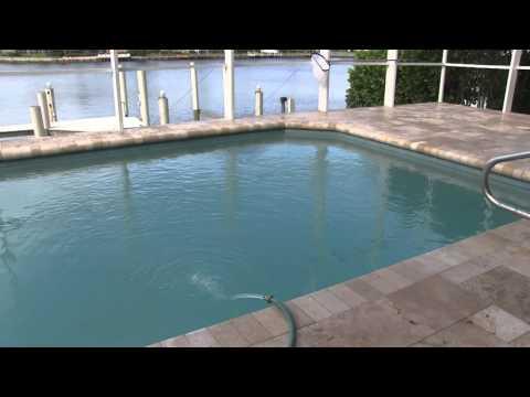 Travertine Pool Deck Installation