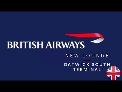 New BA lounge, Gatwick South Terminal