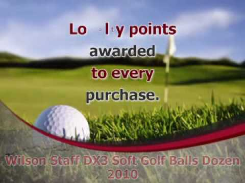 Wilson Staff DX3 Soft Golf Balls Dozen 2010