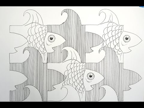 How to make a Tessellation - step  by step tutorial