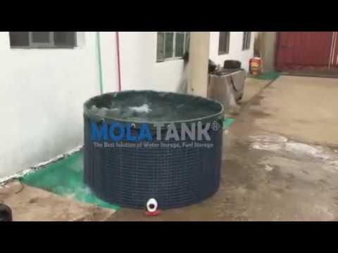 Molatank Mesh Reservoirs Fish Farm Tank Rainwater Harvesting Tank