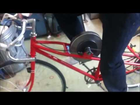 KERS bicycle technology university project at AIT