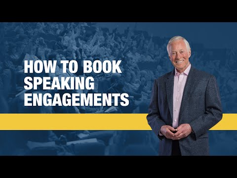 How to Book Speaking Engagements | Brian Tracy