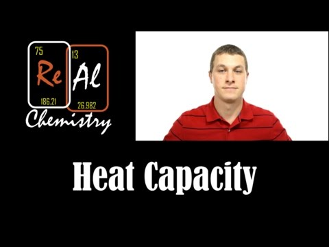 How to calculate temperature changes with specific heat capcity - Real Chemistry