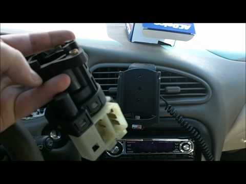 How to replace an ignition switch in a Oldsmobile Alero.