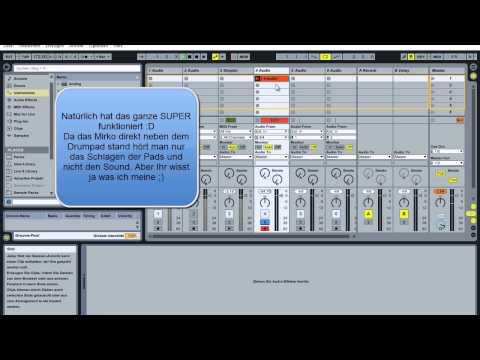 Ableton Live - Tutorial German / Deutsch - Liquid Drum and Bass - Drums - Teil 1