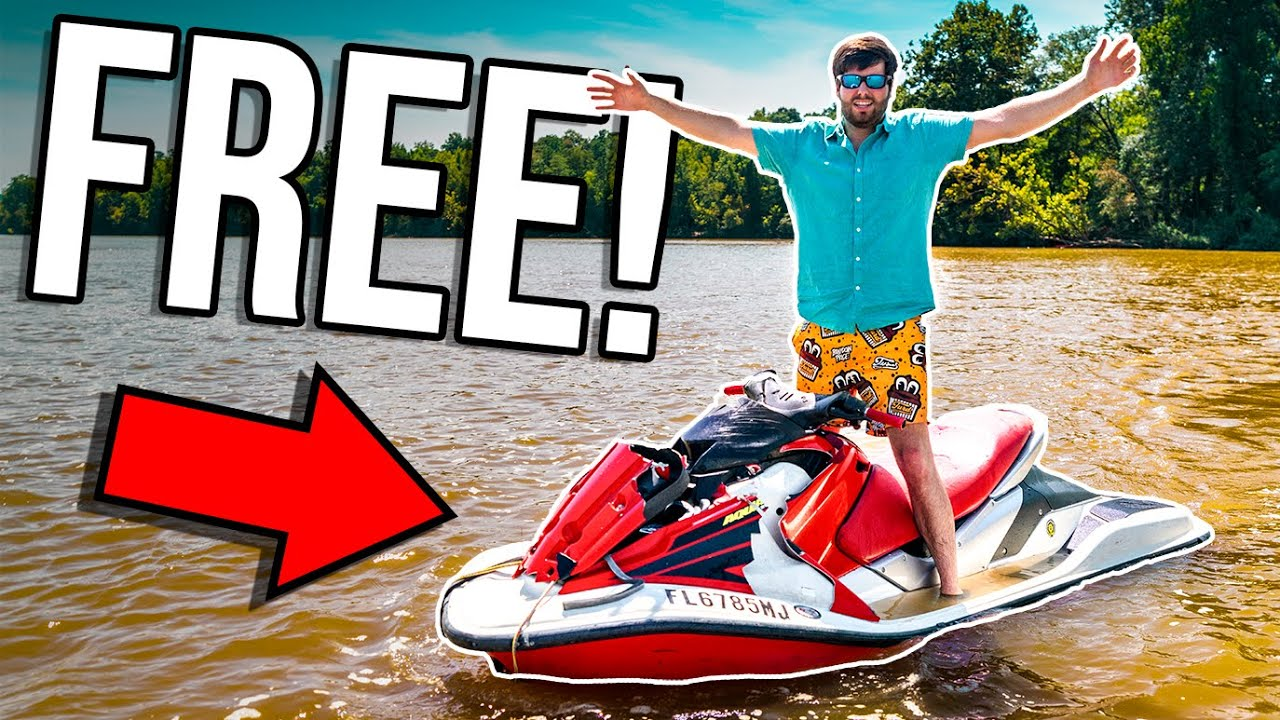 ABANDONED JET SKI RESCUE! ITS ALL OURS! *TURBO CHARGED*