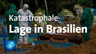 Corona-Pandemie: katastrophale Lage in Brasilien