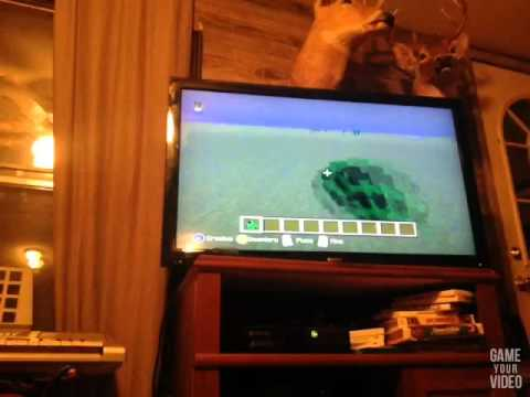 Easiest way to get a charged creeper in minecraft Xbox 360/one edition