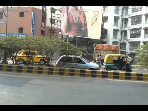 Mysterious street at kolkata in India