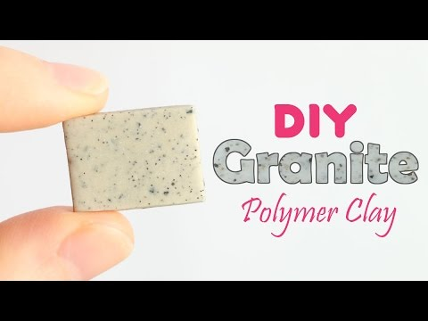 DIY Granite Polymer Clay Tutorial