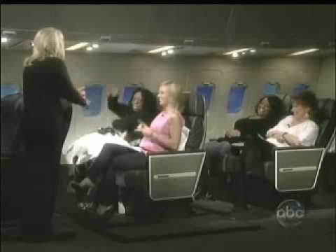 Whoopi Goldberg treated for fear of flying using TFT on The View, part 1