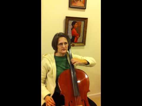 cello vibrato lesson 1