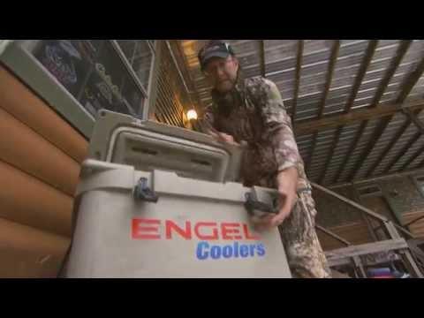 Engel Coolers at Deer Camp