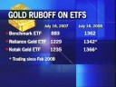 Time to invest in Gold ETFs
