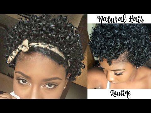 Updated: Natural Hair Routine 3B/3C Hair