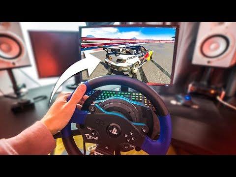 GTA 5 WITH A STEERING WHEEL! #2 - (GTA 5 Drifting Mod)