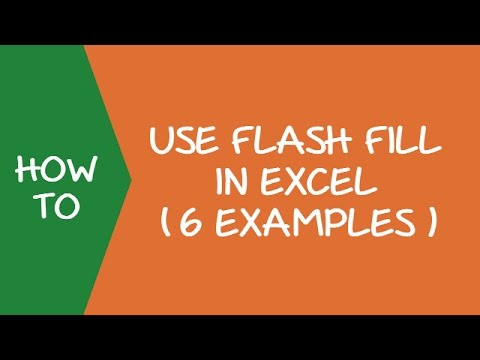 Using Flash Fill in Excel 2013 and 2016 (6 Examples)