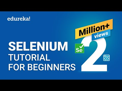 Selenium Tutorial For Beginners | What Is Selenium? | Selenium Automation Testing Tutorial | Edureka
