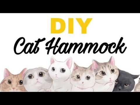 DIY : CAT HAMMOCK (Low Budget)