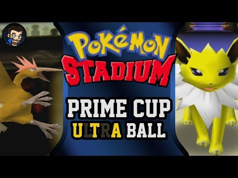 Pokémon Stadium - Prime Cup | Ultra Ball |