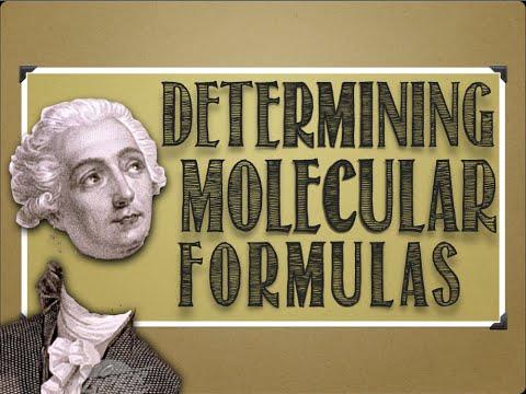 Composition Mathematics: Determining Molecular Formula From Percent Composition