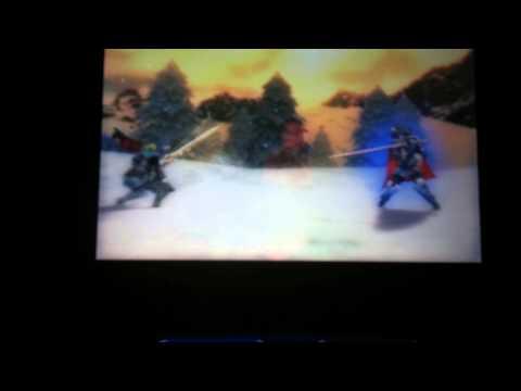 Lucina vs Prince Marth Fire Emblem Awakening 3DS