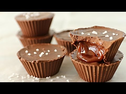 Salted Caramel Chocolate Cups Recipe