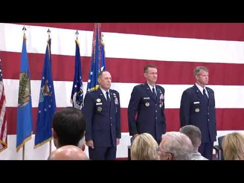 Change of Command Ceremony at Tinker AFB